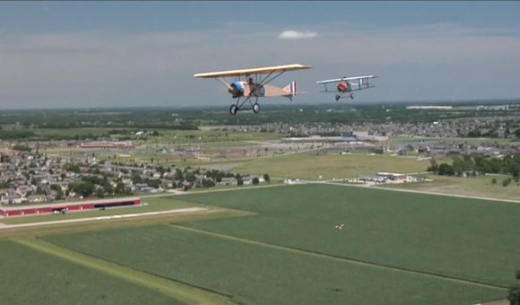 Preview thumbnail for video'World War I Replicas Over Kansas