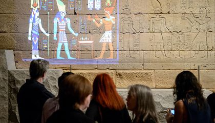 Digital Projections Show the Vivid Colors That Once Decorated an Egyptian Temple