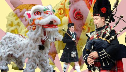 Gung Haggis Fat Choy: This Canadian Celebration Combines Robert Burns Night and Chinese New Year