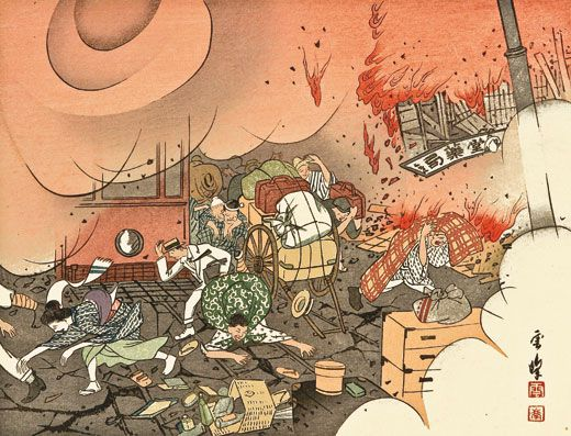 The Great Japan Earthquake Of 1923 History Smithsonian