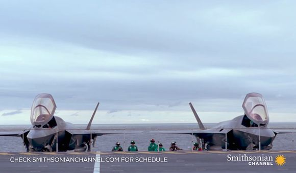 Preview thumbnail for video'The tests for the F-35B Lightnings are taken up a notch