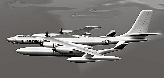 The Douglas Model 1211-J was a grand scheme that existed only as a model and in blueprints