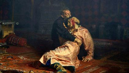 Man Attacks Ivan the Terrible Painting, Blames Vodka