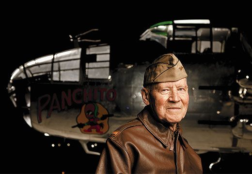 Engineer-gunner David Thatcher was one of four 20-year-olds among the 80 Raiders who bombed Japan.