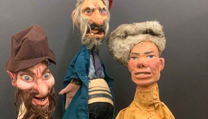 The Life and Death of a Yiddish Puppet Theater