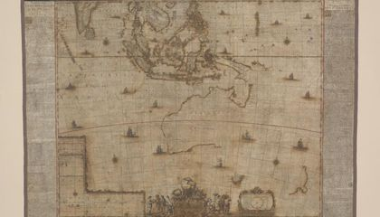 Conservationists Give New Life to 350-Year-Old Map of Australia