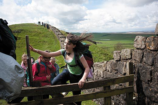 Trekking Hadrian S Wall Travel Smithsonian