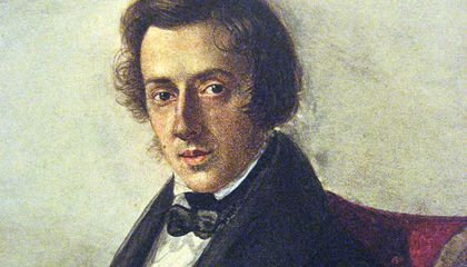 Chopin's Preserved Heart May Offer Clues About His Death