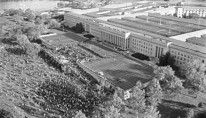 "Fifty Years Ago, a Rag-Tag Group of Acid-Dropping Activists Tried to ""Levitate"" the Pentagon"