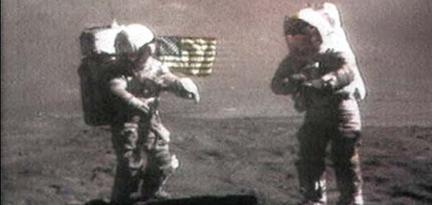 apollo space walk