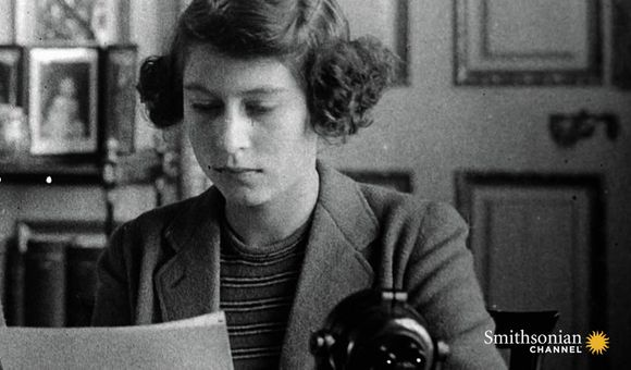 Preview thumbnail for video'A Young Princess Elizabeth's First Radio Broadcast