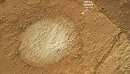 Curiosity Found Evidence of An Ancient Freshwater Lake on Mars