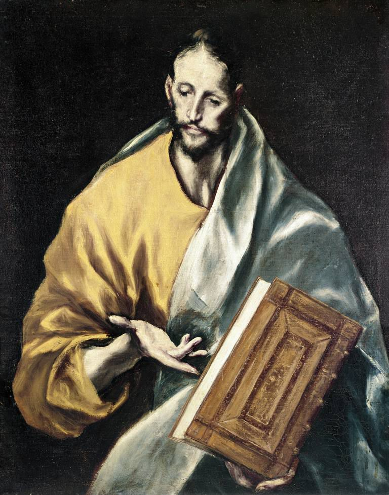A 1609 painting of St. James the Younger by Spanish artist El Greco