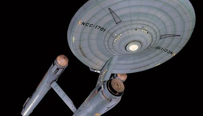 Star Trek's U.S.S. Enterprise to Boldly Go Back to the Workshop