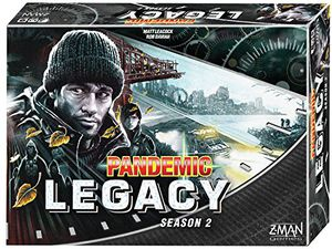 Preview thumbnail for 'Fantasy Flight Games Pandemic: Legacy Season 2 (Black Edition) Board Games