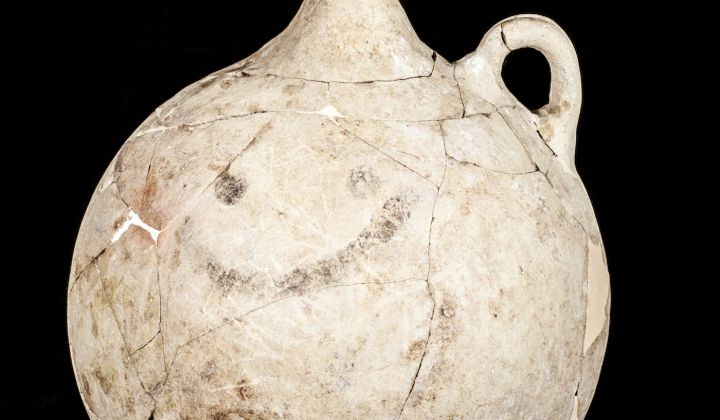 World's Oldest Smiley Face Found on Hittite Jug