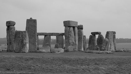 Digital Laser Scans of Stonehenge Reveal Ancient Graffiti