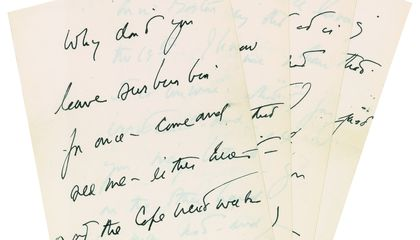 A Steamy Letter From JFK Is up for Auction