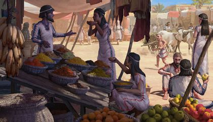 Ancient Mediterranean People Ate Bananas and Turmeric From Asia 3,700 Years Ago