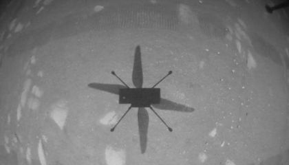 NASA's Mars Helicopter Completes First Historic Test Flight on Another Planet