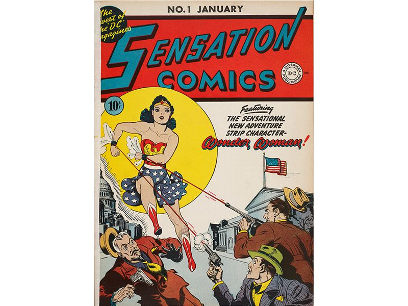 The Surprising Origin Story Of Wonder Woman Arts Culture Smithsonian Magazine