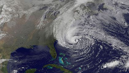 Ways to Watch Sandy That Are More Interesting Than Looking Out the Window And Safer Than Going Outside