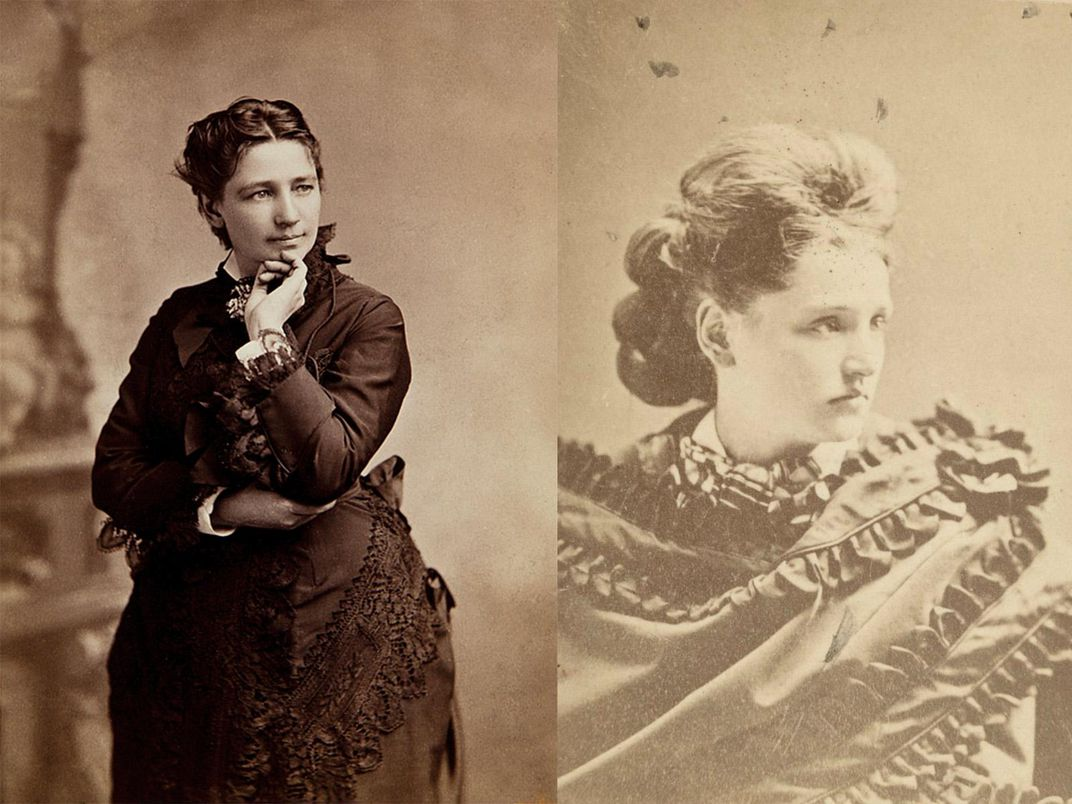 Victoria Claflin Woodhull and Tennessee Claflin