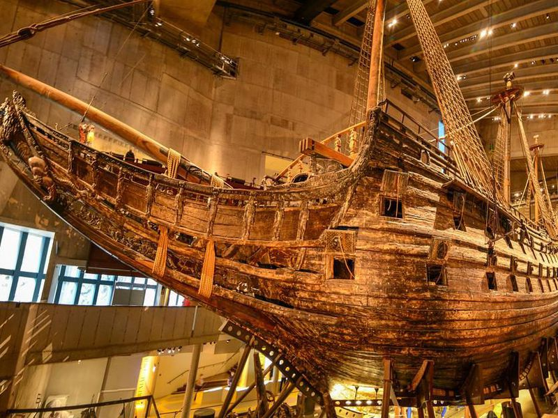 The Bizarre Story Of Vasa The Ship That Keeps On Giving Smart News Smithsonian