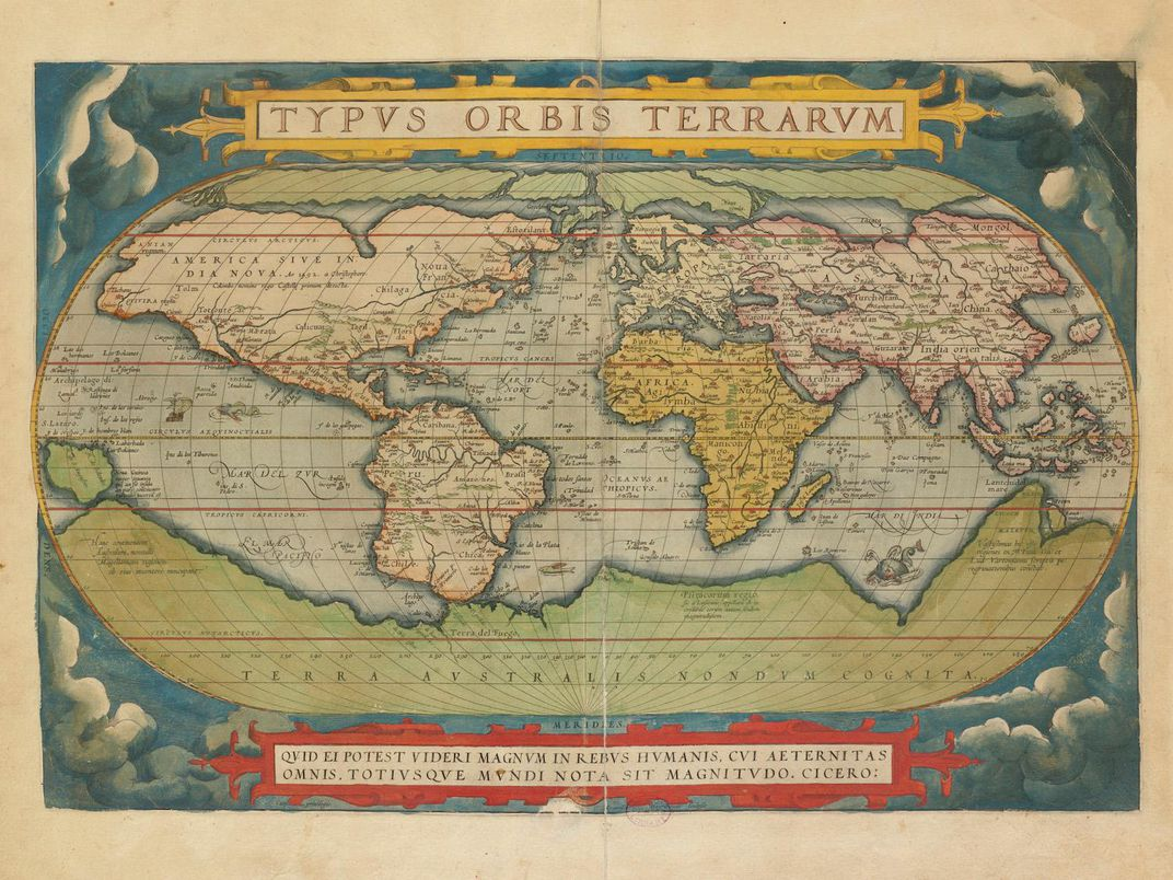 Terra Earth Map.How Maps Shaped Shakespeare Smart News Smithsonian