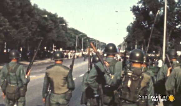 Preview thumbnail for video'Anti-War Protests Turn Violent at 1968 Democratic Convention