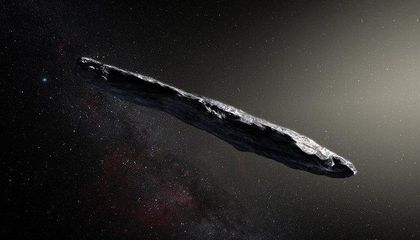 Unusual Interstellar Visitor Could Be Shard of Ice