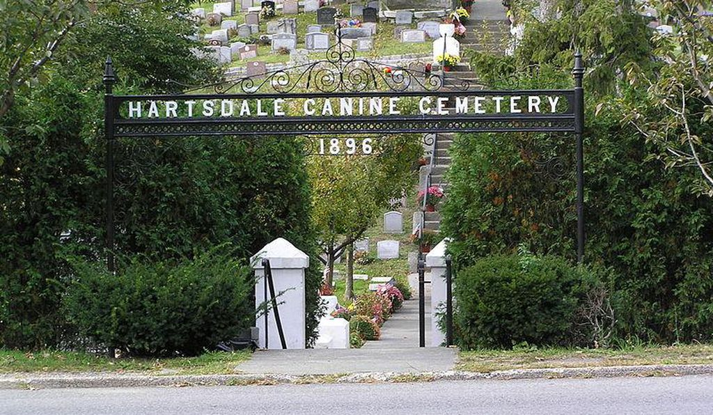 More than 70,000 beloved pets are buried at Hartsdale Pet Cemetery & Crematory in New York.