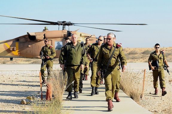 The IDF's Flickr page is full of images of their generals and tanks.