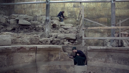Roman Theater Uncovered Near Jerusalem's Western Wall