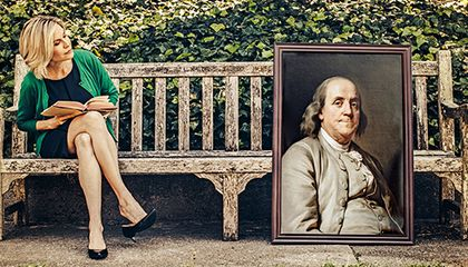 Dear Sir, Ben Franklin Would Like to Add You to His Network