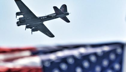 Watch the Replay of the WWII Flyover