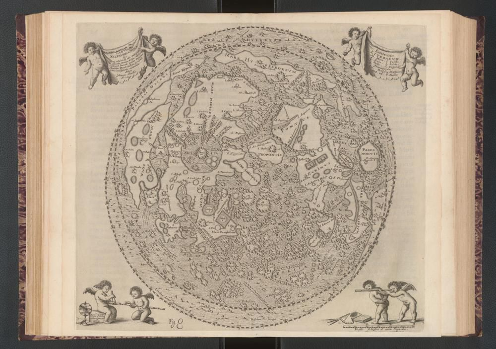 The 17th-Century Astronomer Who Made the First Atlas of the Moon