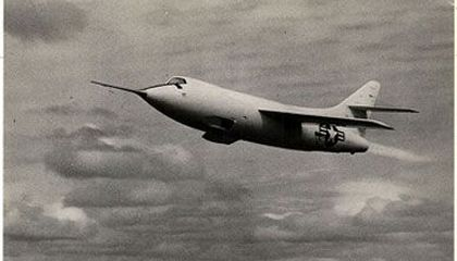 The Douglas D-558-2 Skyrocket