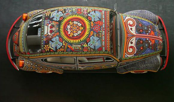 Preview thumbnail for video'How Many Beads Can You Glue to the Outside of a VW Beetle?