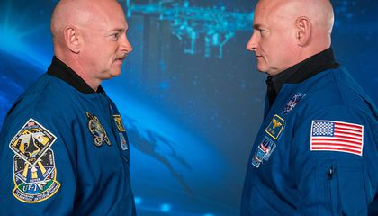 Astronaut Twin Study Shows How Hard Space Is on the Body