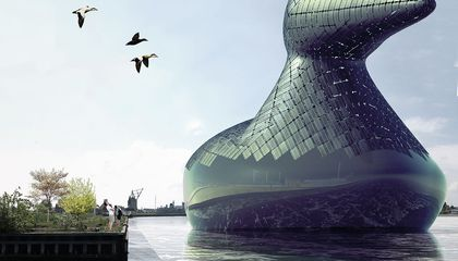 Copenhagen Might Install a Giant, Energy-Gathering Duck in Its Harbor