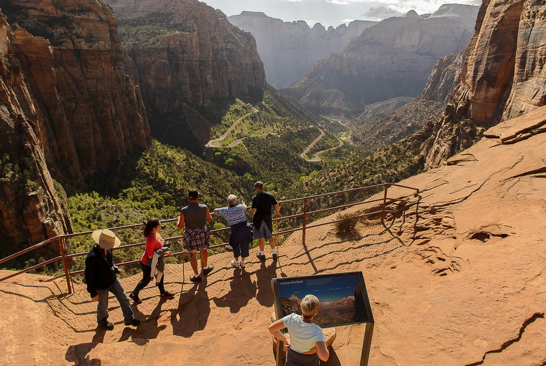 Visits to national parks set record