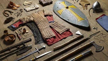 How British Soldiers' Gear Has Changed Over the Last 1,000 Years