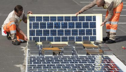 France Is Paving More Than 600 Miles of Road With Solar Panels