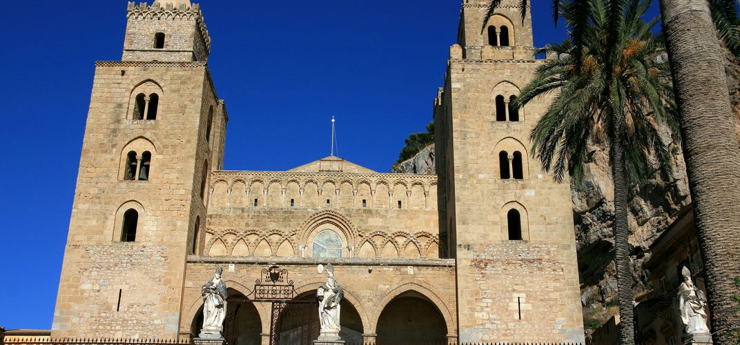 The Romanesque cathedral of Cefalú
