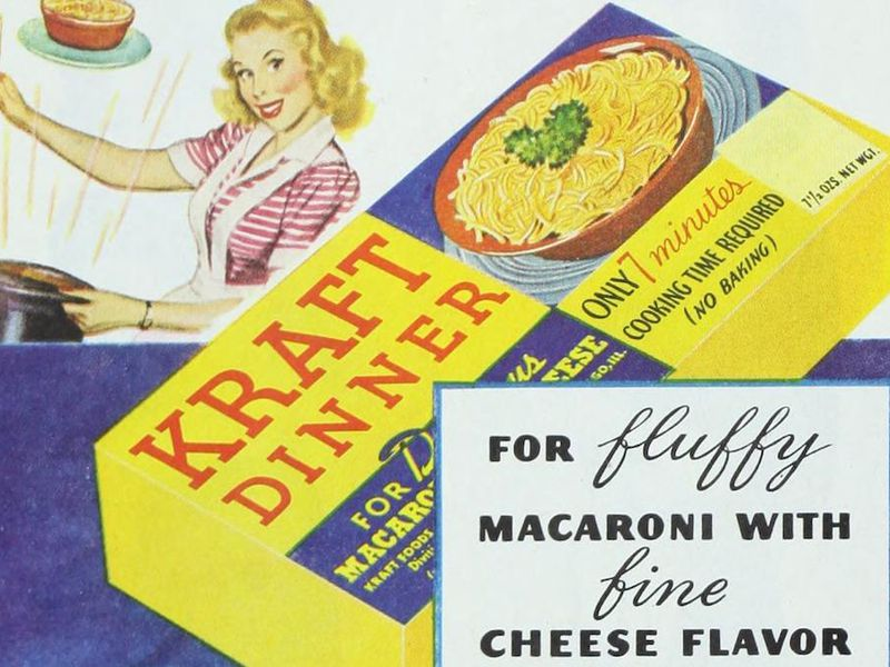 Kraft advertisement in the Ladies' Home Journal, 1948