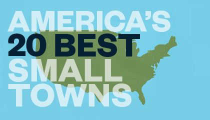 The 20 Best Small Towns to Visit in 2014