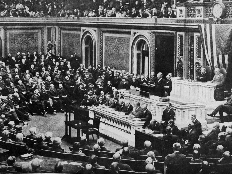 How Woodrow Wilsons War Speech To Congress Changed Him And The