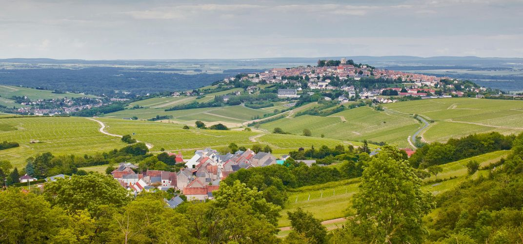 View of Sancerre, Loire Valley