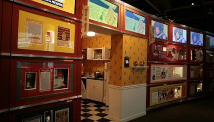 Mr. Peanut, the Doughboy and Other Appetizing Characters at the Inventors Museum